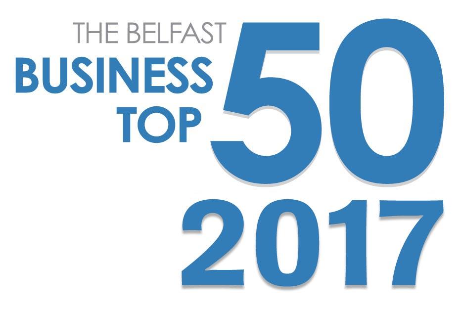 Belfast 50 logo