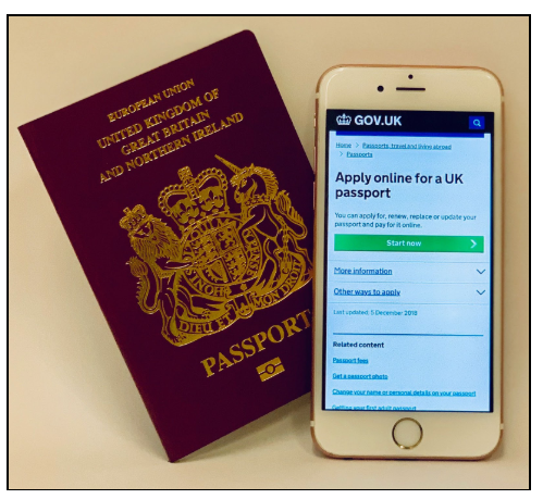 You can now apply for a first time adult passport online