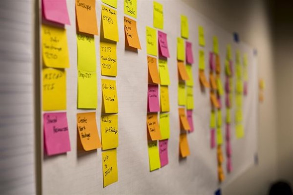 Scrum board 1