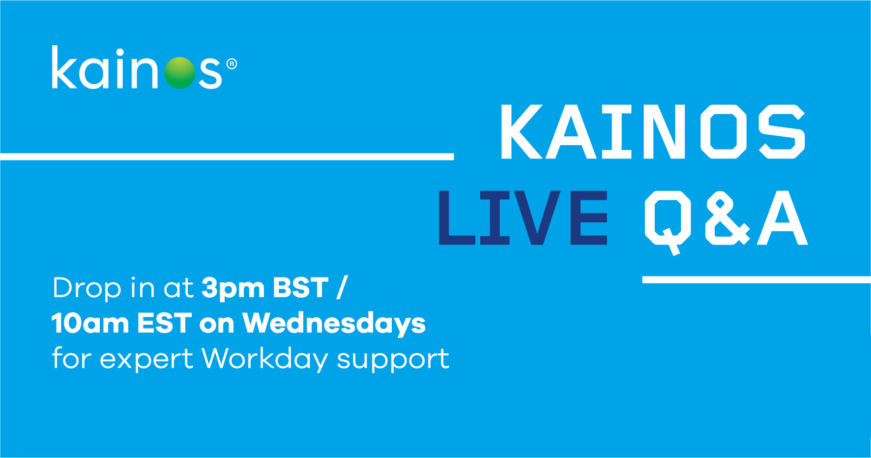 Kainos workday qa