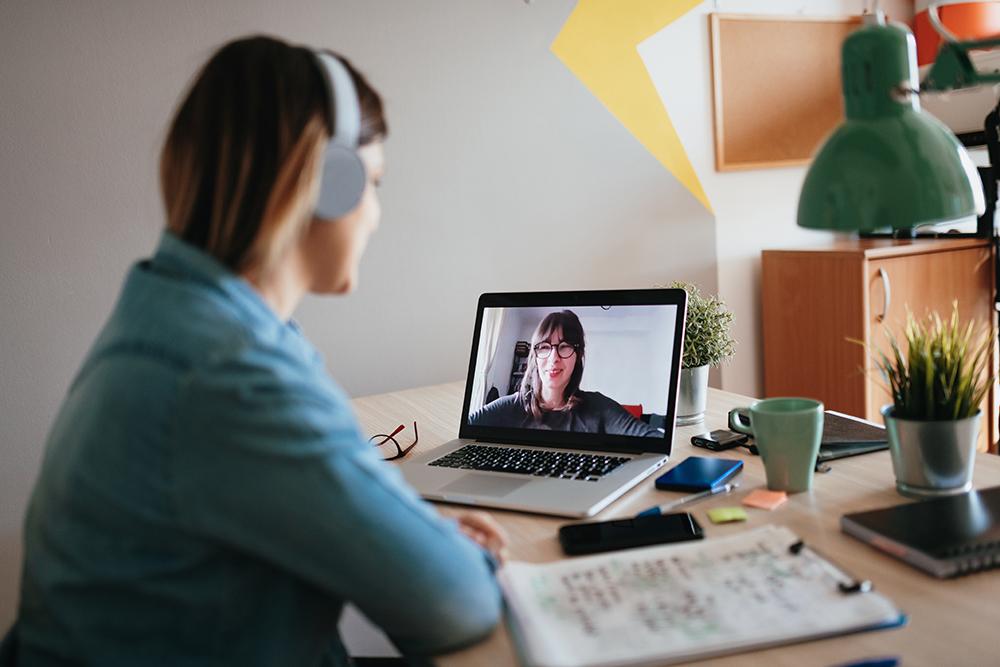 Online video meeting